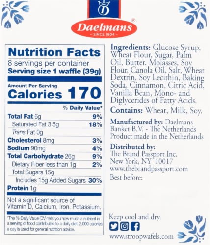 Daelmans Caramel Stroopwafels Perspective: right
