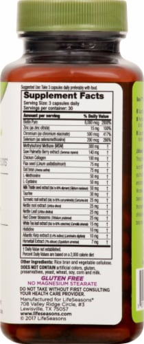 Life Seasons Beau-T Hair Skin and Nails Dietary Supplement Capsules Perspective: right