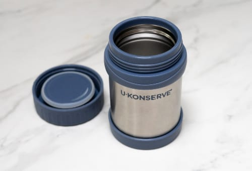 U-Konserve Insulated Food Jar Stainless Steel Container - Ocean Perspective: right
