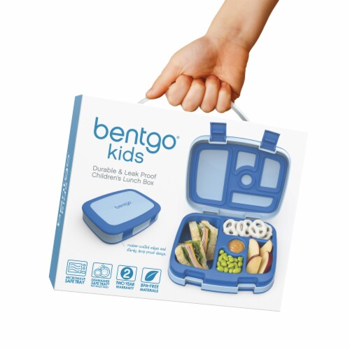 Bentgo Kids Leak Proof Chidren's Lunch Box - Blue Perspective: right