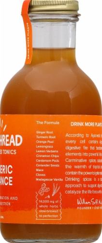 Goldthread Plant Based Tonics Turmeric Radiance Perspective: right