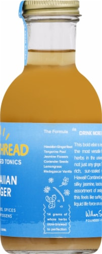 Goldthread Herbs Plant Based Tonics Hawaiian Ginger Perspective: right