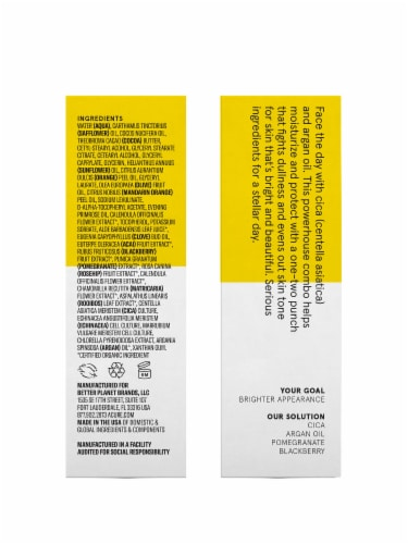 Acure Brightening Day Cream Perspective: right