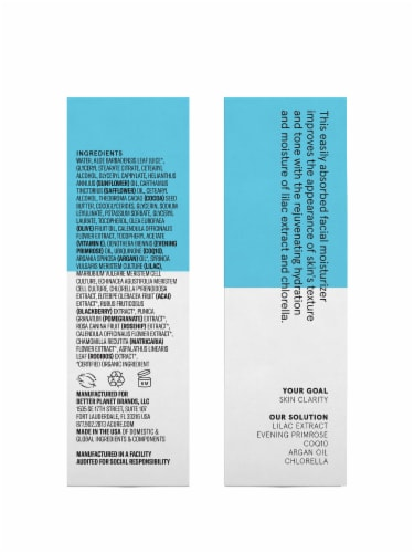Acure Incredibly Clear Mattifying Moisturizer Perspective: right