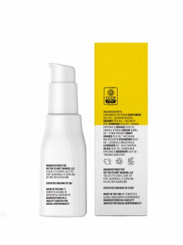Acure Organic Brightening Glowing Serum Perspective: right