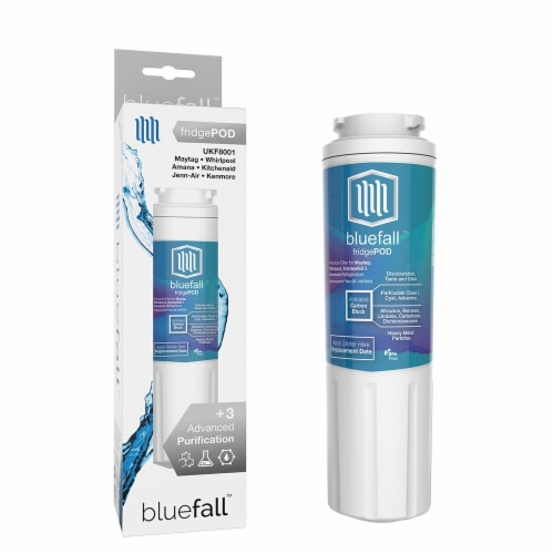 Maytag UKF8001 5PK Refrigerator Water Filter Compatible by BlueFall Perspective: right