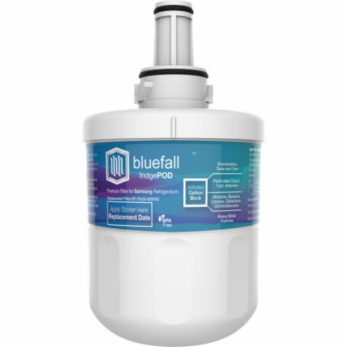Samsung DA29-00003G 10PK Refrigerator Water Filter Compatible by BlueFall Perspective: right