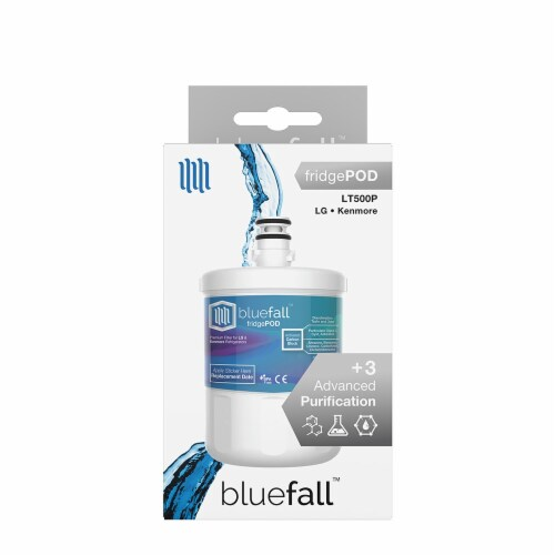 LG LT500P Refrigerator Water Filter Compatible by BlueFall Perspective: right