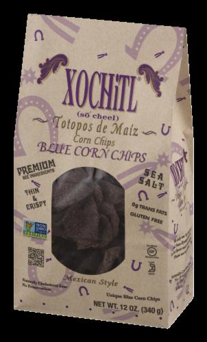 Xochitl Blue Corn Tortilla Chips Perspective: right