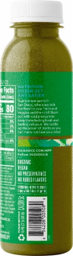 Suja Organic Mighty Dozen Vegetable & Fruit Drink Perspective: right