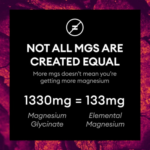 Physician's Choice Magnesium Bisglycinate Chelate Dietary Supplement Perspective: right