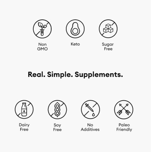 Physician's Choice Immune Premium Supplement Capsules Perspective: right