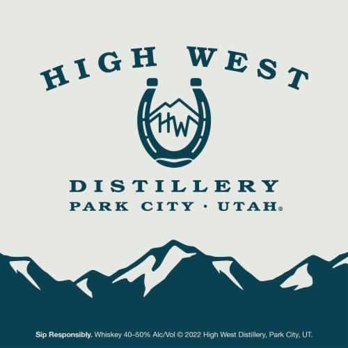High West Double Rye Whiskey Perspective: right