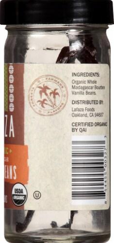 LAFAZA Organic Madagascar Vanilla Beans Perspective: right