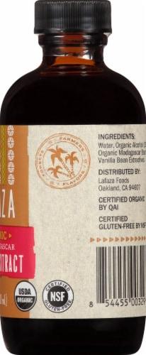 LAFAZA Organic Madagascar Vanilla Extract Perspective: right