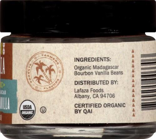LAFAZA Organic Pure Madagascar Ground Vanilla Perspective: right