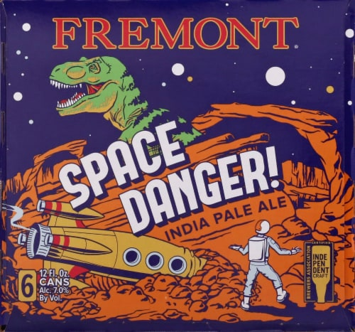 Fremont Space Danger! India Pale Ale Beer Perspective: right
