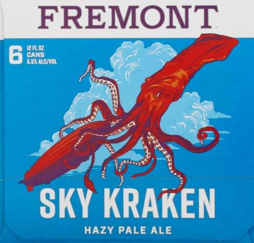Fremont Sky Kraken Hazy Pale Ale Perspective: right