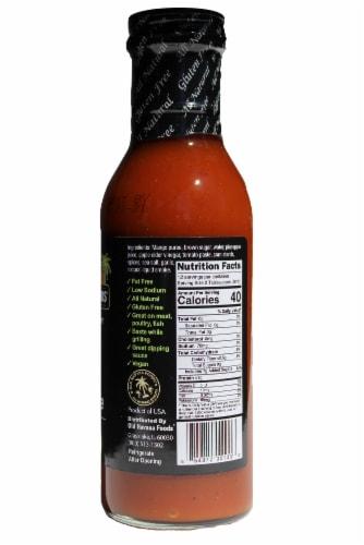 Old Havana Foods Mango Pineapple BBQ Sauce Perspective: right
