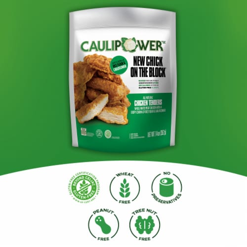 Caulipower New Chick on the Block All Natural Chicken Tenders Perspective: right