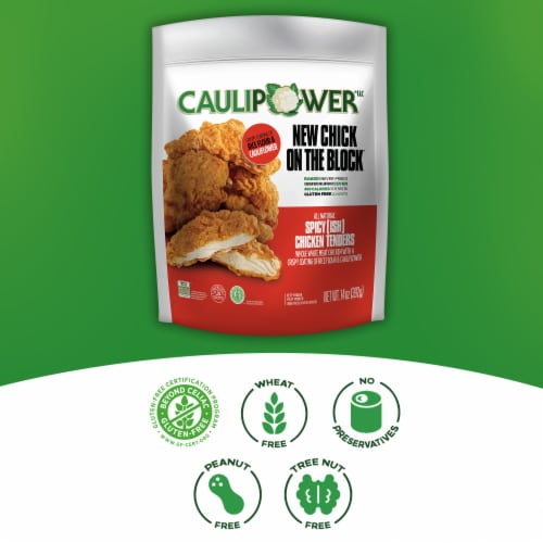 Caulipower Baked Spicy-ish Chicken Tenders Perspective: right