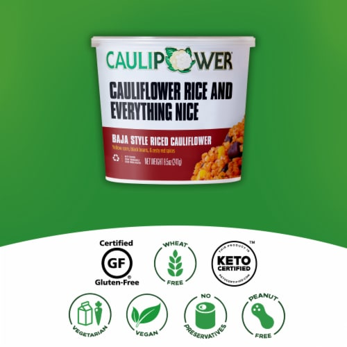 Caulipower Baja Style Riced Cauliflower Cup Perspective: right