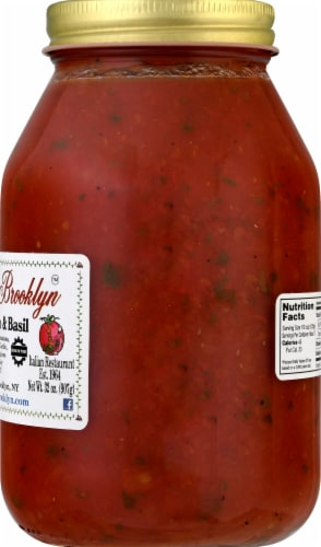 Michaels of Brooklyn Fresh Tomato & Basil Sauce Perspective: right