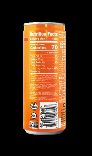 BOS Organic Rooibos Peach Flavor Iced Tea Perspective: right