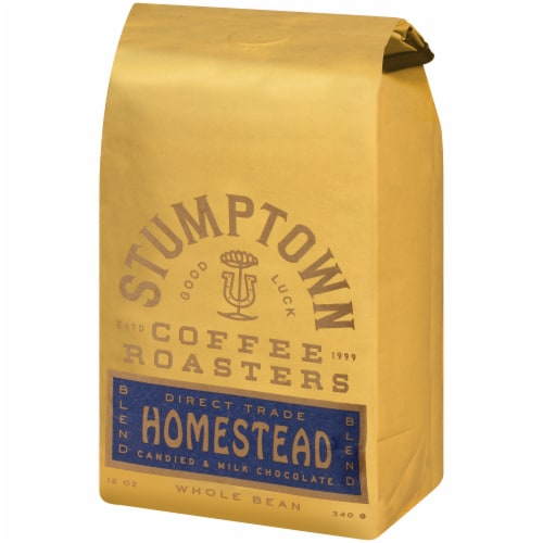 Stumptown Coffee Roasters Homestead Blend Candied & Milk Chocolate Whole Bean Coffee Perspective: right