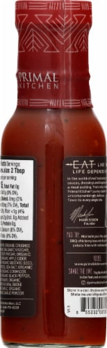Primal Kitchen Organic & Unsweetened Classic BBQ Sauce Perspective: right