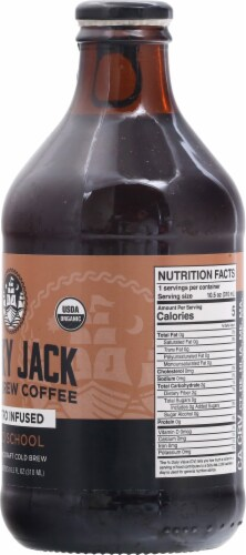 Lucky Jack Old School Nitro Cold Brew Coffee Perspective: right