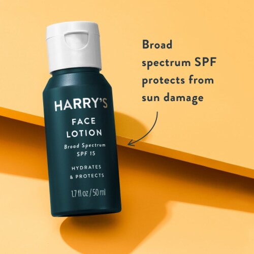 Harry's Face Lotion SPF 15 Perspective: right