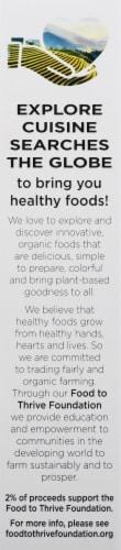 Explore Cuisine Organic Edamame & Spirulina Spaghetti Perspective: right