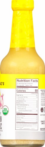Tessemae's All Natural Lemon Garlic Dressing & Marinade Perspective: right