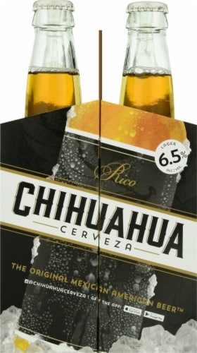 Chihuahua Cerveza Rico Lager Perspective: right