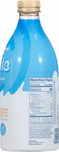 Ripple Original Unsweetened Plant-Based Milk Perspective: right