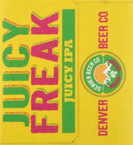 Denver Beer Co. Juicy Freak IPA Perspective: right