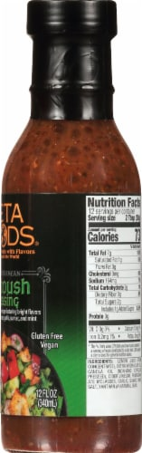 Teta Foods Mediterranean Fattoush Dressing & Marinade Perspective: right