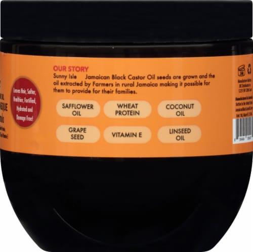 Sunny Isle Jamaican Black Castor Oil Intensive Repair Masque Perspective: right