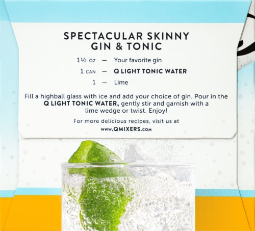 Q Mixers Light Tonic Water Perspective: right