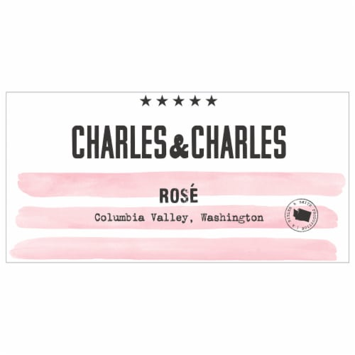 Charles & Charles Rose Wine Perspective: right