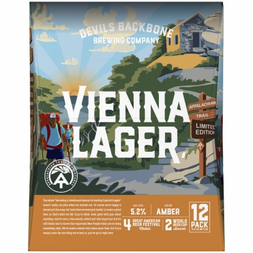 Devils Backbone Brewing Company Vienna Lager Perspective: right