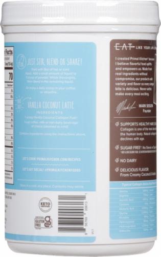 Primal Kitchen Collagen Fuel Vanilla Coconut Collagen Peptide Drink Mix Perspective: right