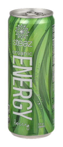 Steaz Organic Fuel Energy Drink Perspective: right