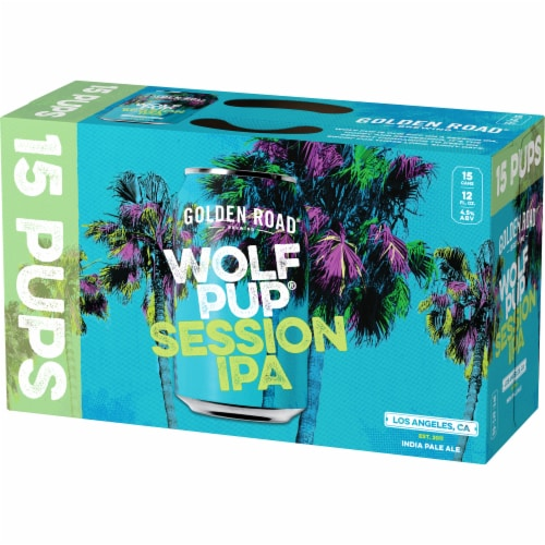 Golden Road Brewing Wolf Pup Session IPA Perspective: right