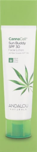 Andalou Naturals CannaCell Sun Buddy SPF 30 Perspective: right