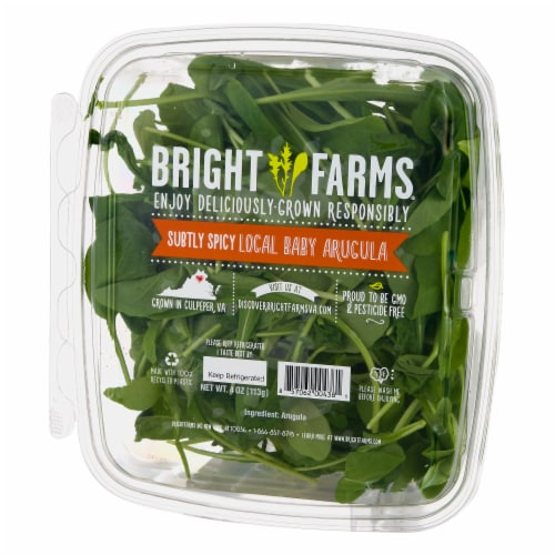 Bright Farms Baby Arugula Perspective: right