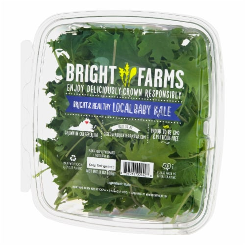 Bright Farms Baby Kale Perspective: right
