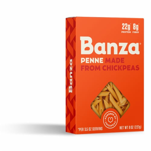 Banza Chickpea Penne Pasta Perspective: right