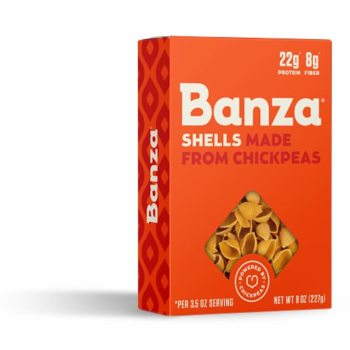 Banza Chickpea Shell Pasta Perspective: right